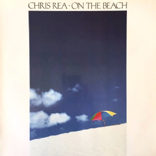 Chris Rea ‎- On The Beach (LP) (VG-/VG+)